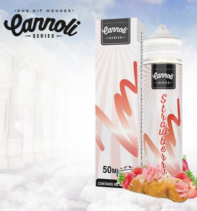 Strawberry Cannoli - 50ml