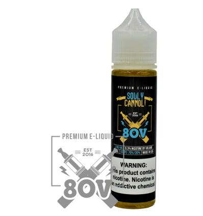 Souly Cannoli 80V - 50ml