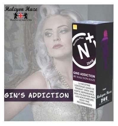 Gin Addiction T-Juice Nicotine Plus - 10ml