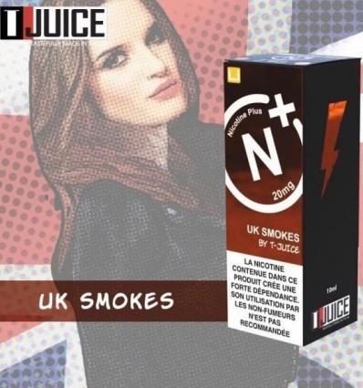 UK Smokes T-Juice Nicotine Plus - 10ml