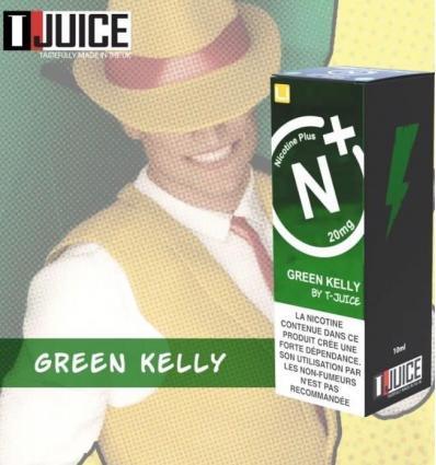Green Kelly T-Juice Nicotine Plus - 10ml