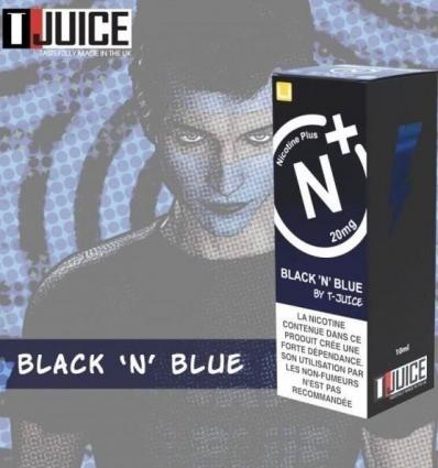 Black 'N' Blue T-Juice Nicotine Plus - 10ml