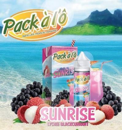 Sunrise Pack à l'Ô - 50ml