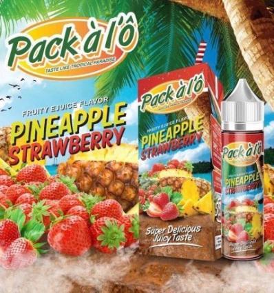 Pineapple Strawberry Pack à l'Ô - 50ml