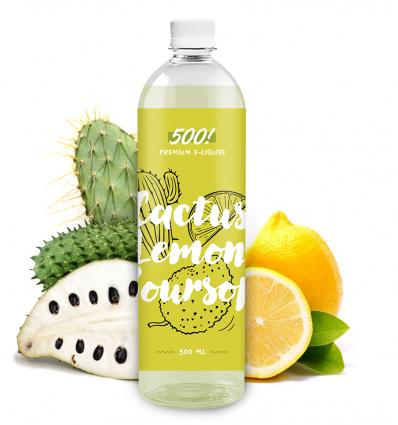 500! - Cactus Lemon Soursop - 500ml