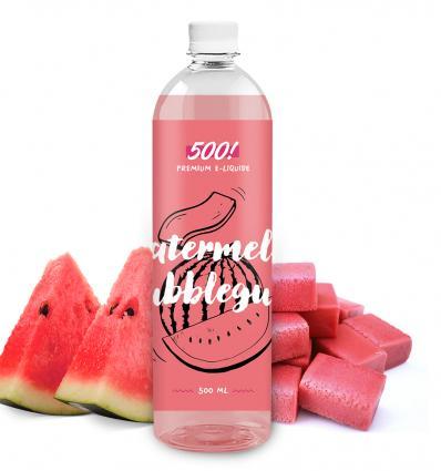 500! - Watermelon Bubblegum - 500ml